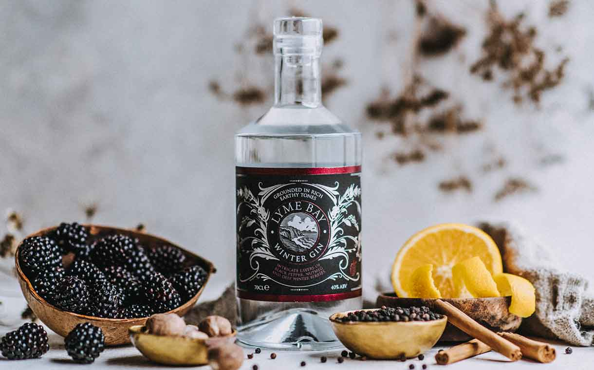 Lyme Bay Winery Debuts Winter Gin Featuring ?seasonal Flavours? photo
