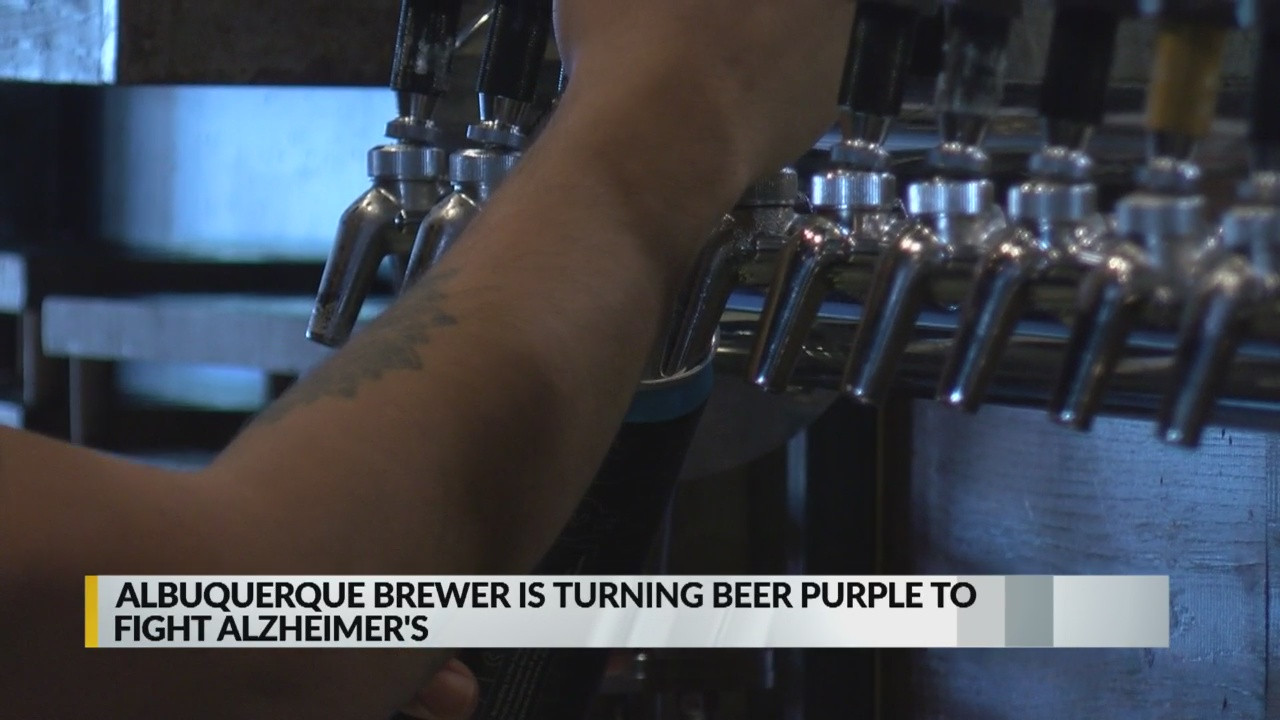 Marble Brewery Announces Purple-tinted Beer To Help Fight Alzheimer?s photo
