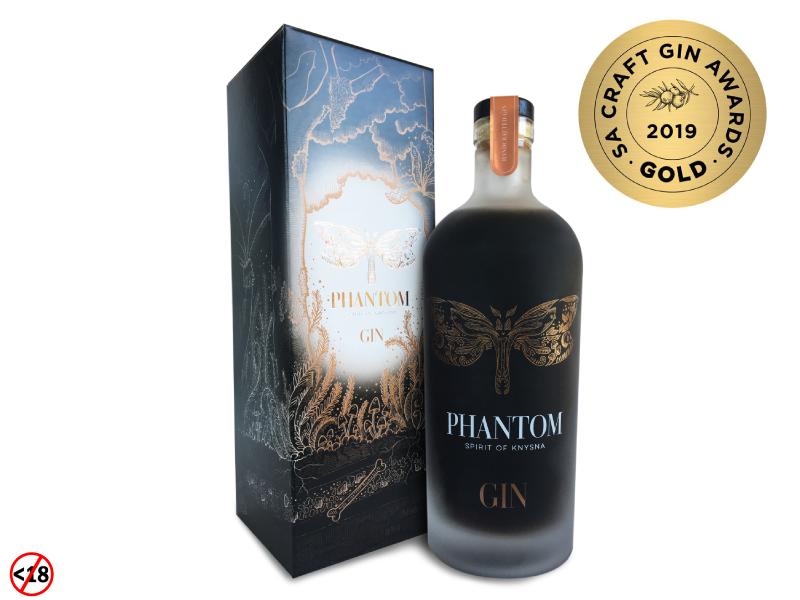 Phantom Gin Wins Gold At SA Craft Gin Awards 2019 photo