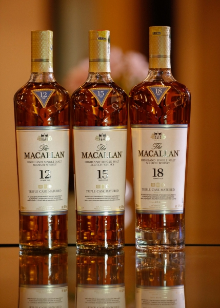 The Macallan Triple Cask Series Whisky Unveiled In Kenya photo