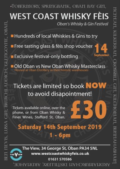 Oban To Host Celebration Of West Coast Distillers photo
