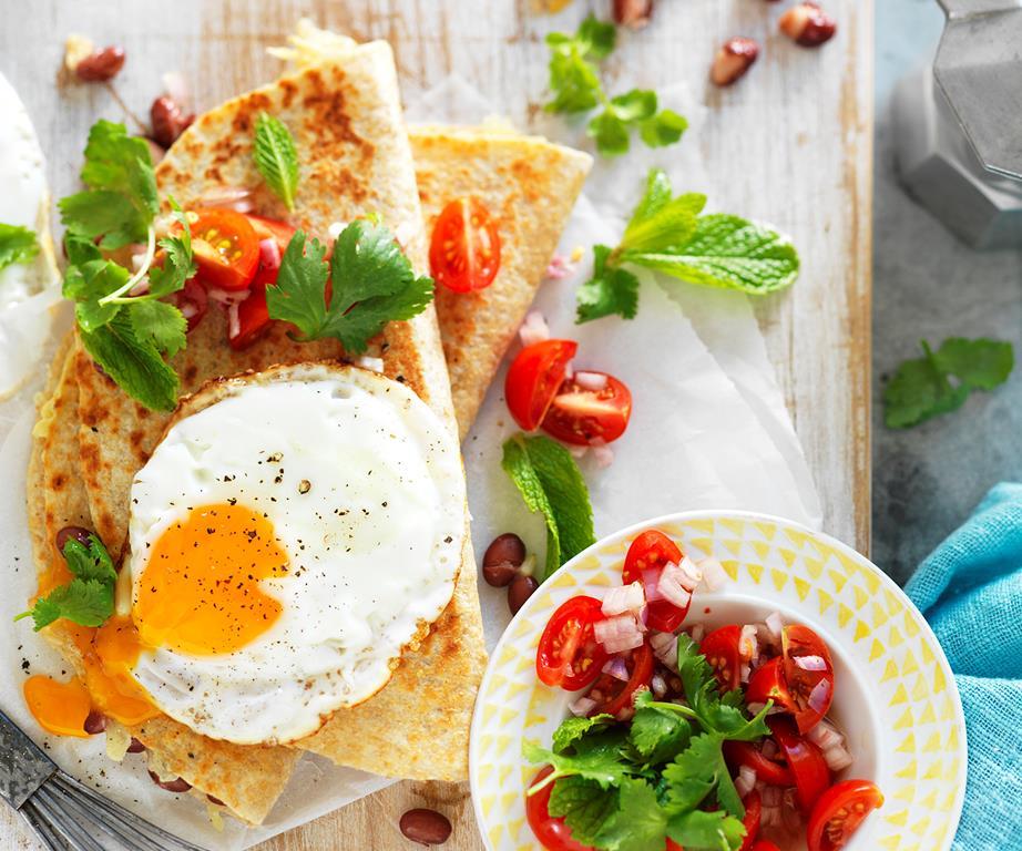 Mexican Breakfast Quesadillas photo