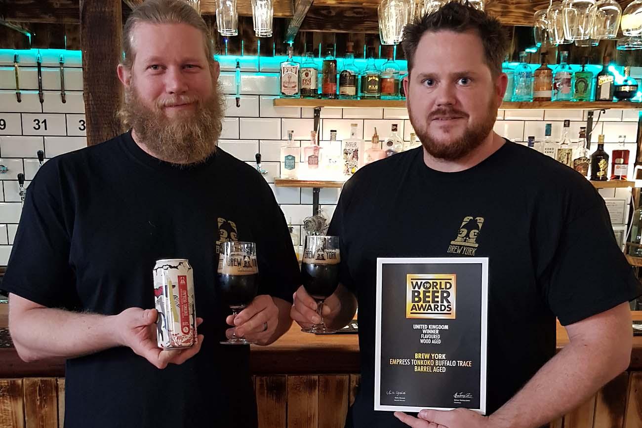 Brew York Triumphs In World Beer Awards photo