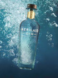 Mermaid Gin And Blackjack Promotions Toast Gatwick Airport Campaign photo