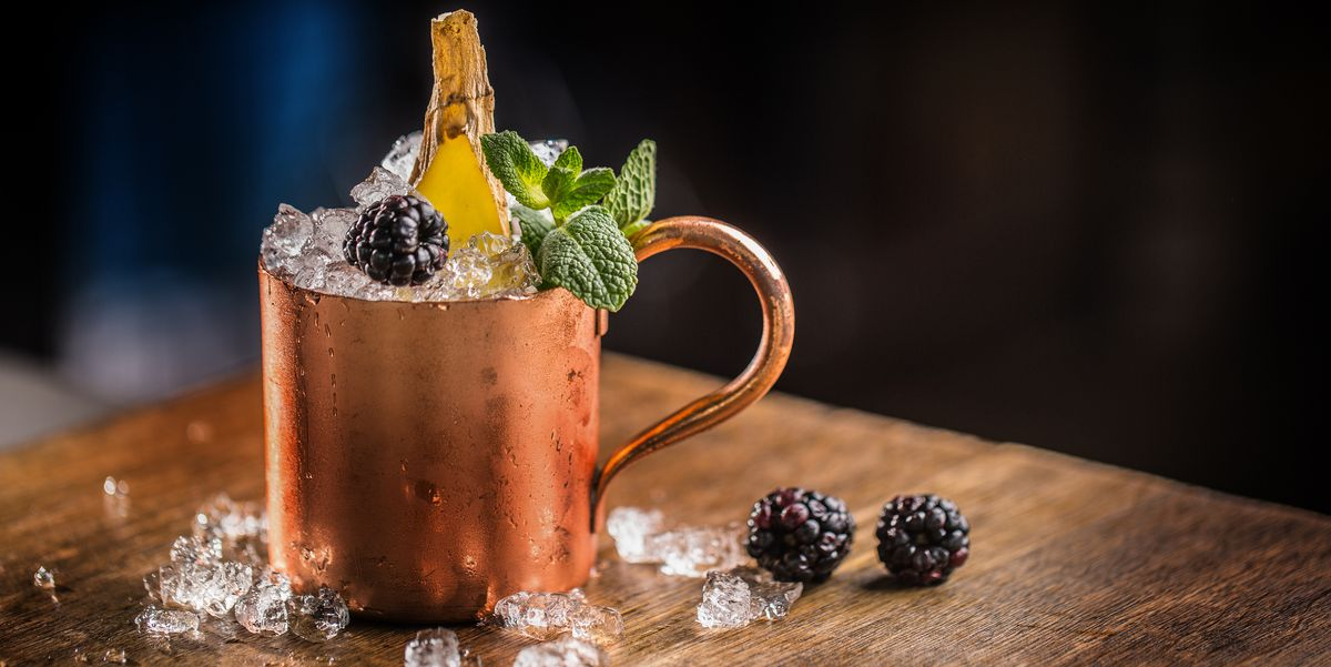 Creative Twists On The Moscow Mule, From Blood Orange To Black Ginger photo