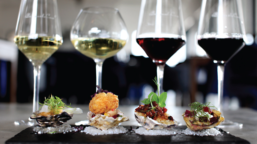 oysters benguela cove Wine Estates with Oyster and Wine Pairings