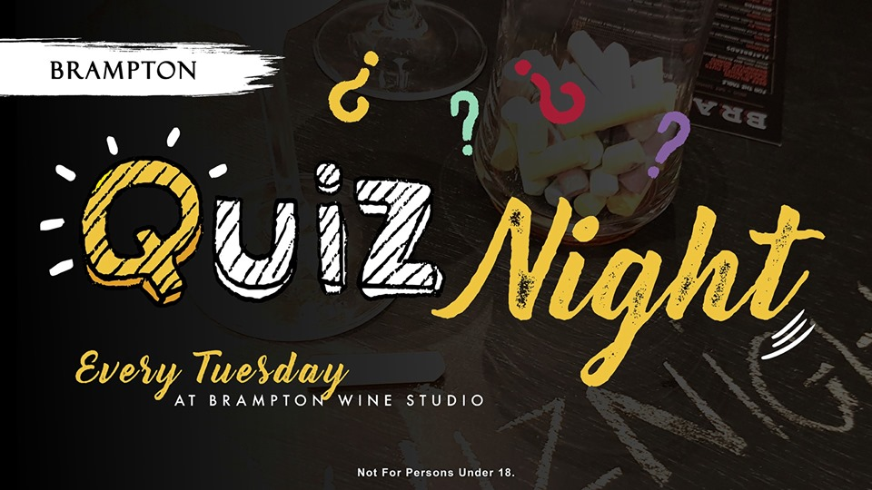 Tuesday Quiz Nights At Brampton Wine Studio photo