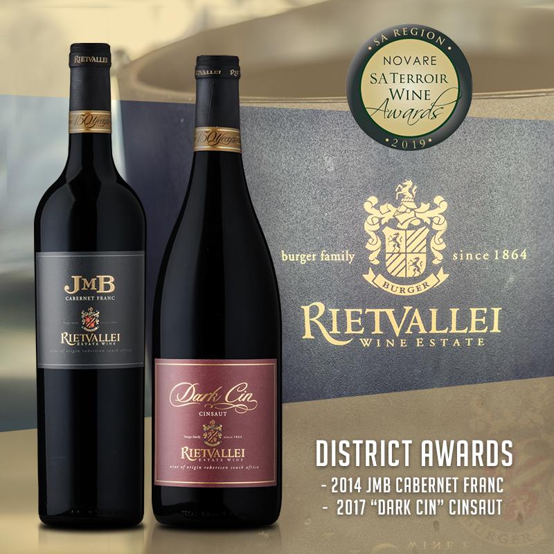 riet Rietvallei JMB Cabernet Franc 2014 Earns Top Honours At 2019 SA Terroir Awards