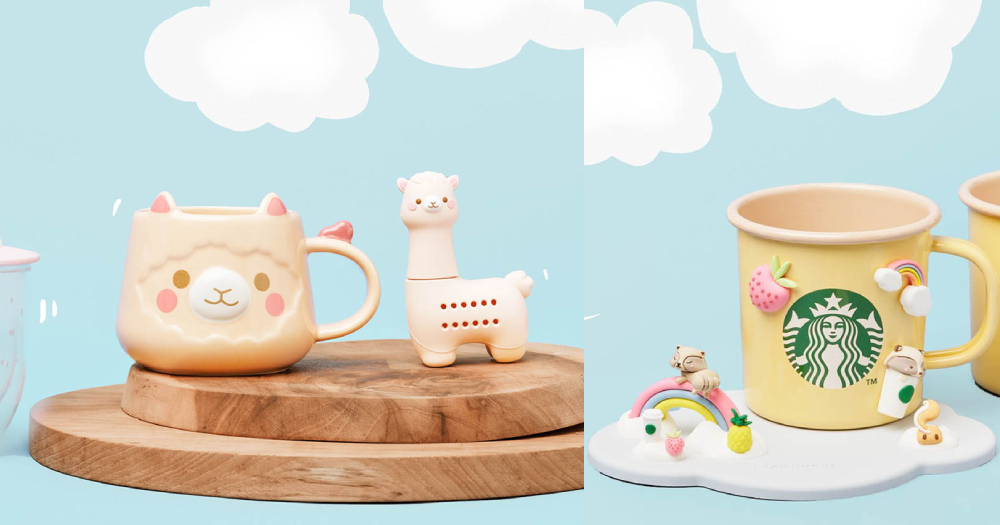 Starbucks S?pore Releases Adorable Alpaca-themed Merchandise, Available From Aug. 26, 2019 photo