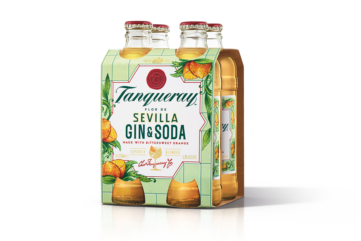 Tanqueray Have Released A Luxe 4-pack Of Ready-to-drink Gin & Sodas photo