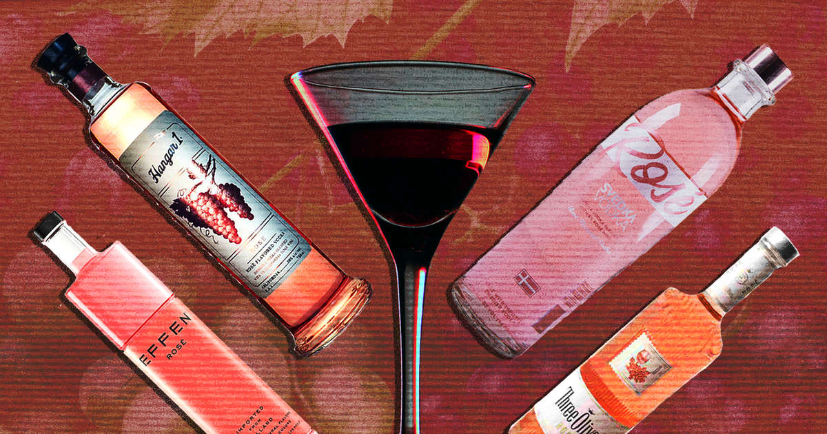 Rosé Vodka Is The New Pink Wave — And It's Actually Pretty Great photo