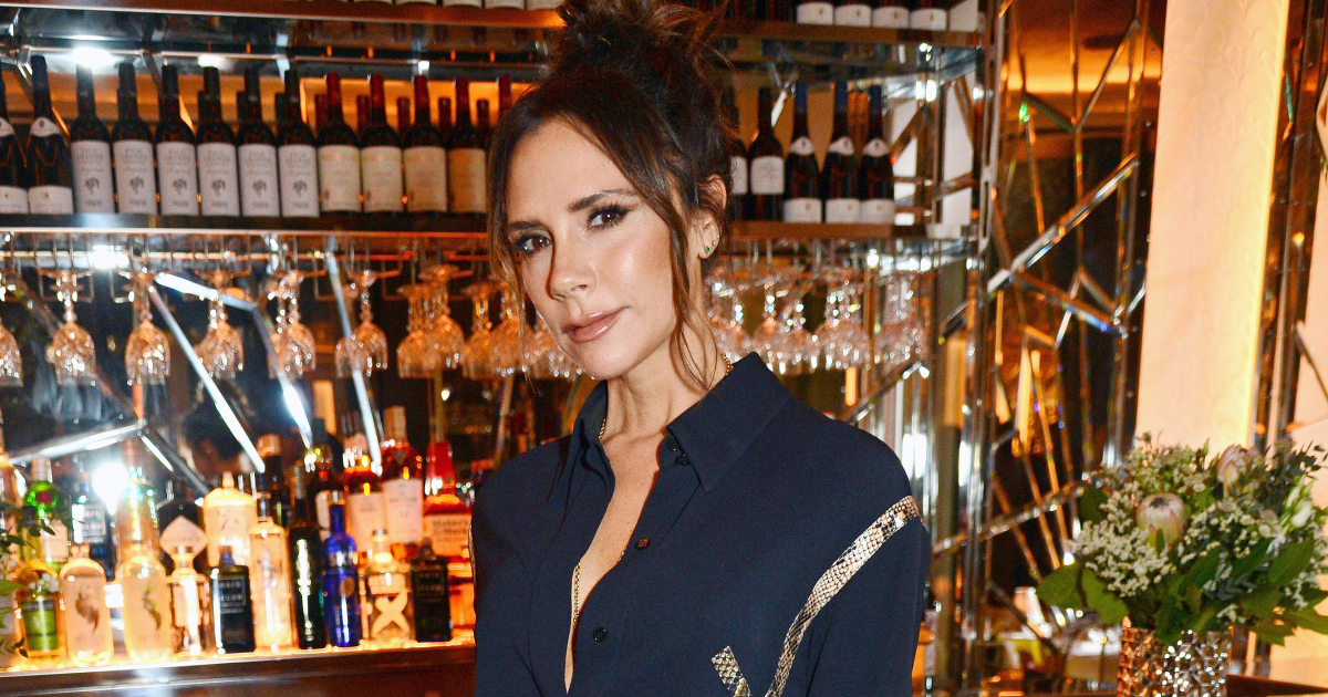 Victoria Beckham Starts Her Day With A Vodka Cocktail That Is Very Easy To Make photo