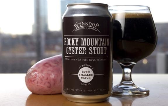 wynkoop rocky mountain oyster stout can 5 Of The Weirdest Beers Ever Crafted