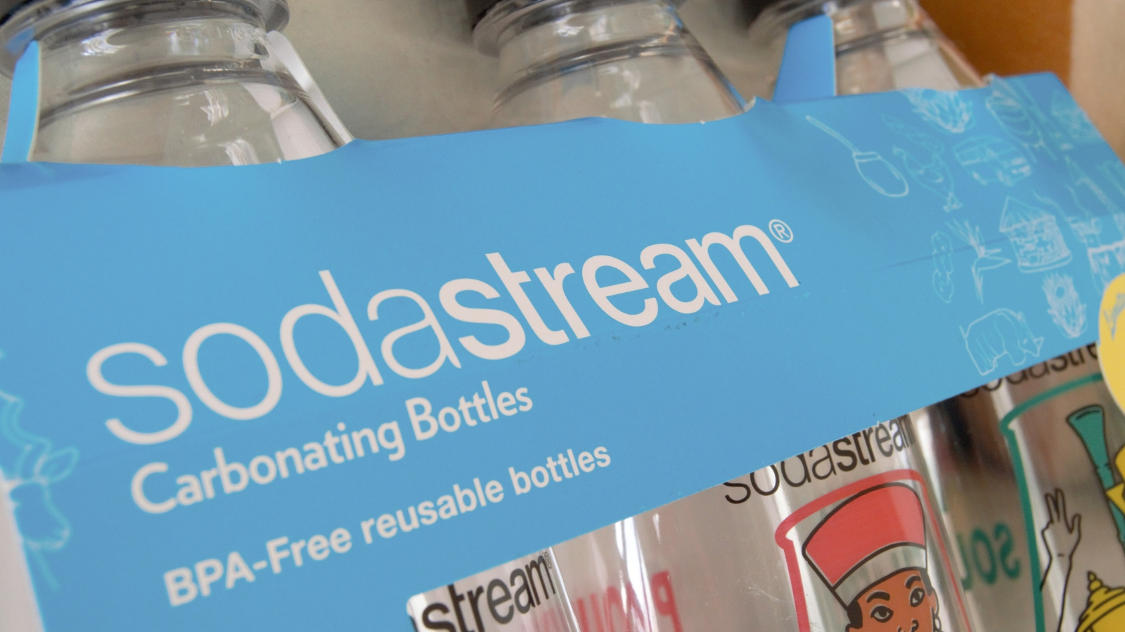 One Of Sodastream South Africa's New Bottles Can Save 512 Bottles A Year photo
