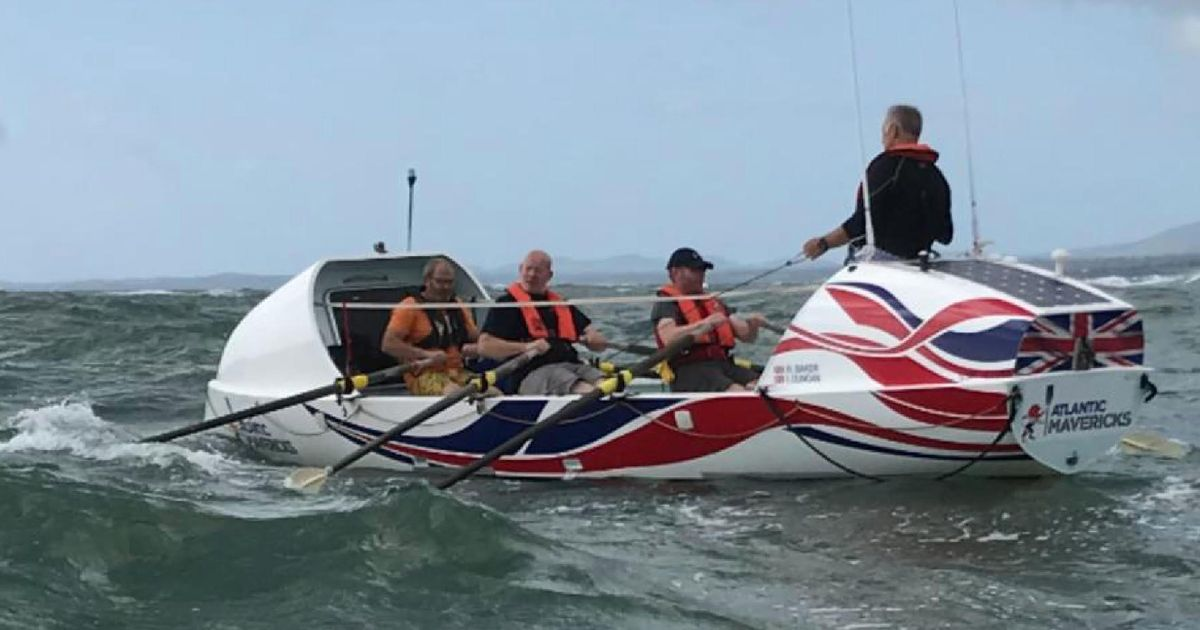 """Ian Takes On """"world's Toughest Row"""" With Talisker Whisky Atlantic Challenge photo"""