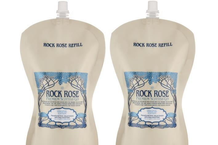 Dunnet Bay Craft Distillery Puts Its Rock Rose Gin Into Sustainable Pouches photo