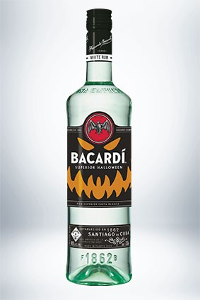 Bacardi Releases Glow-in-the-dark Bottle For Halloween photo