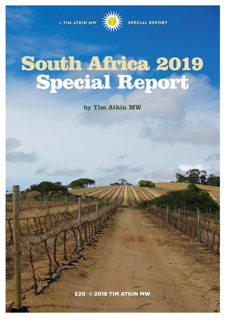 Tim Atkin South Africa Special Report 2019 photo