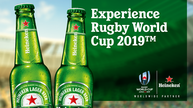 Stand A Chance To Win Tickets To Attend The Heineken® Rugby World Cup 2019™ Viewing Experience photo
