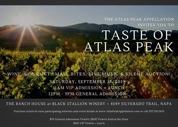 Taste Of Atlas Peak photo
