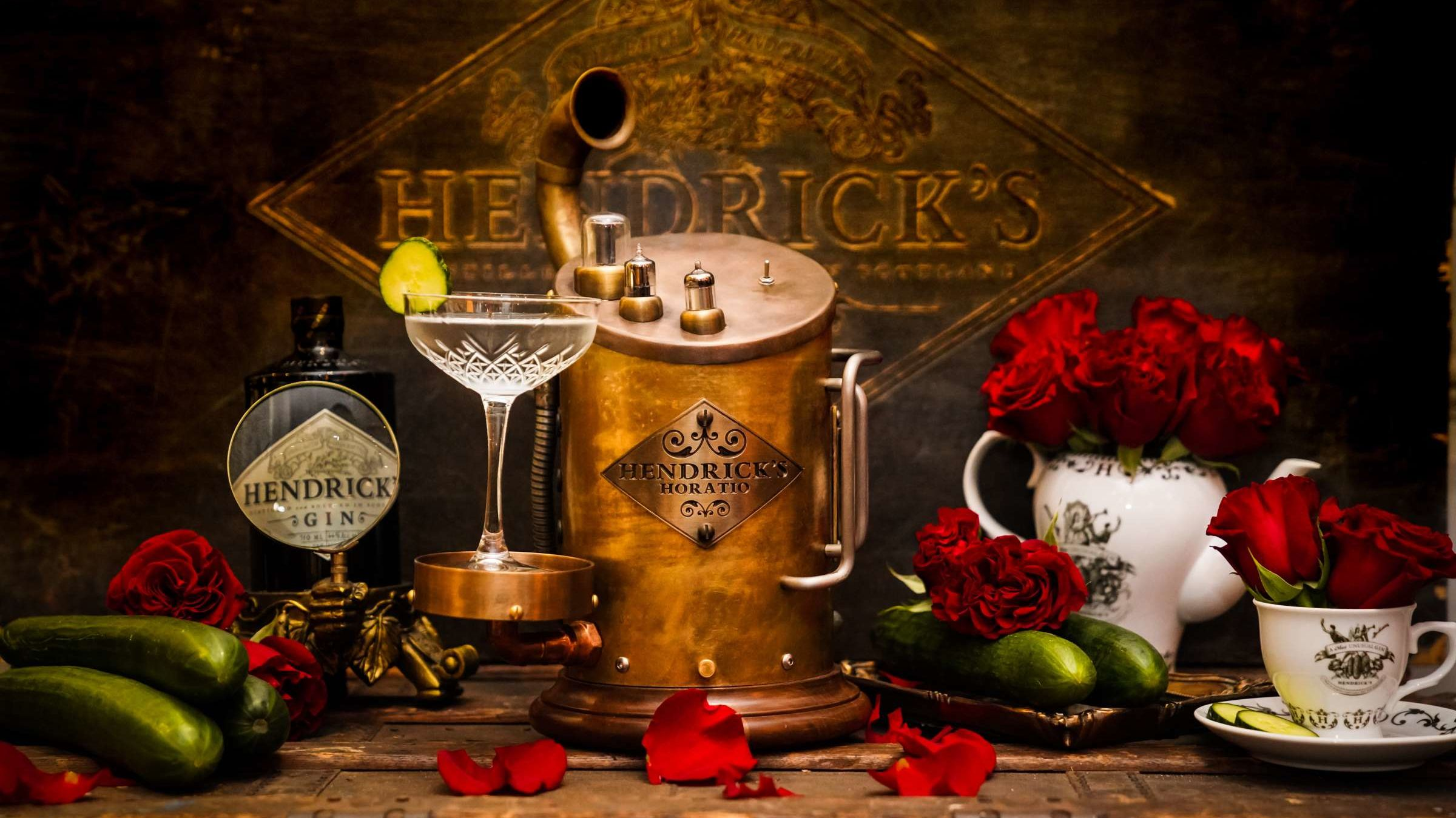Meet Horatio, The Old-timey ?smart? Speaker From Hendrick?s Gin photo