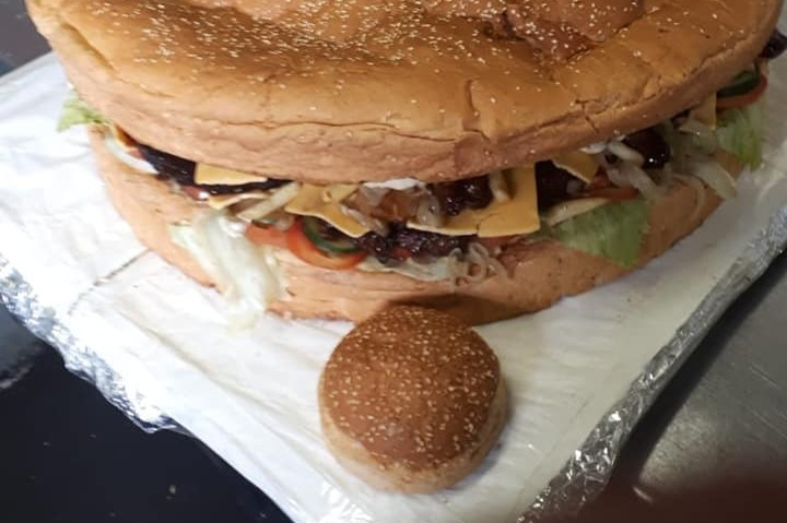 The 6 Biggest Craziest Burgers In Cape Town photo