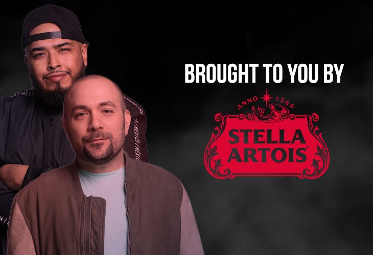 Dj Juanyto With Stella Artois At Triboro Beverage photo