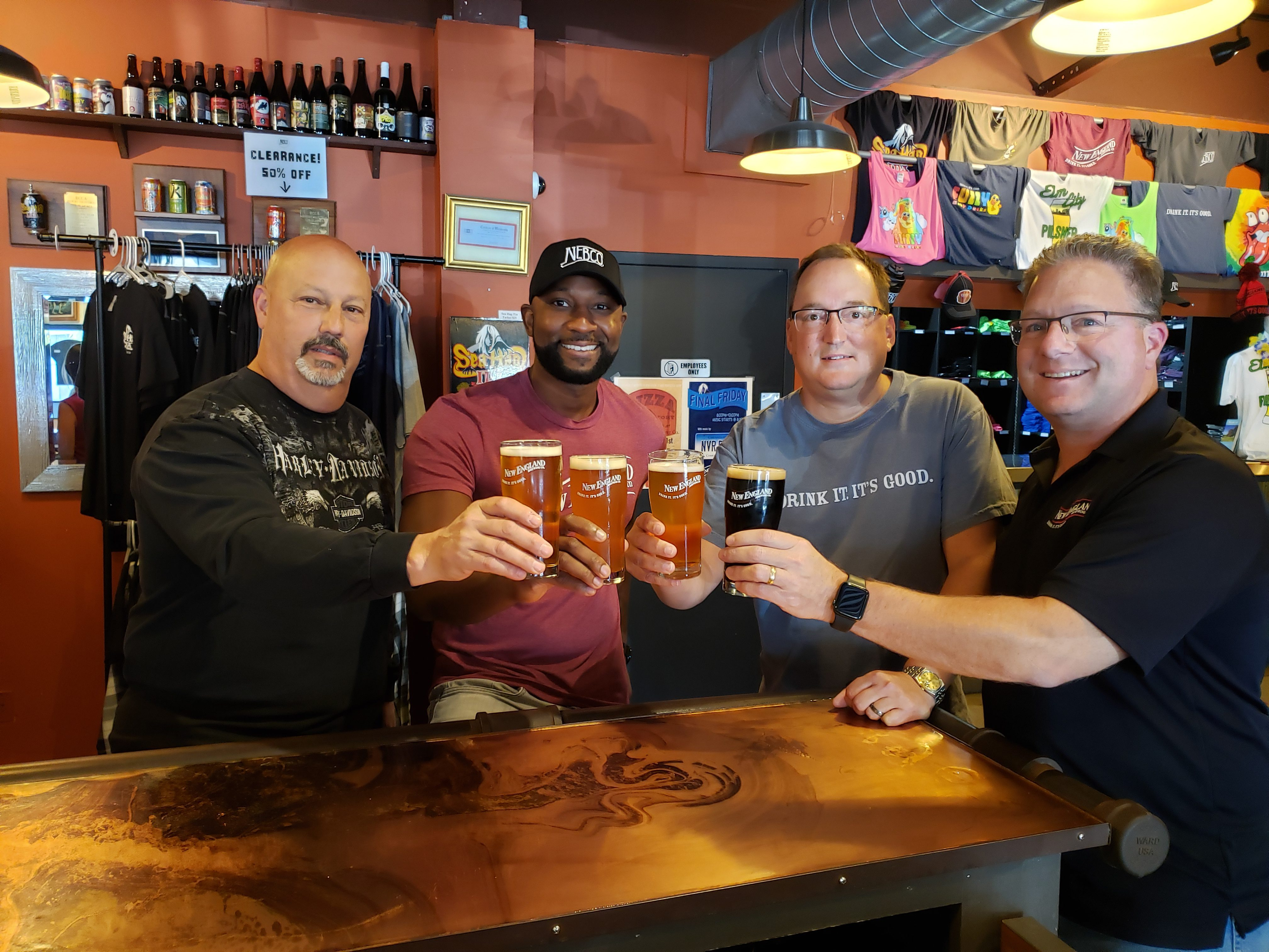 New England Brewing Co. Names New Director Of Sales photo