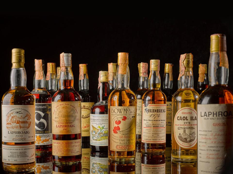 Sotheby's To Offer Most Valuable Private Whisky Collection For Auction photo