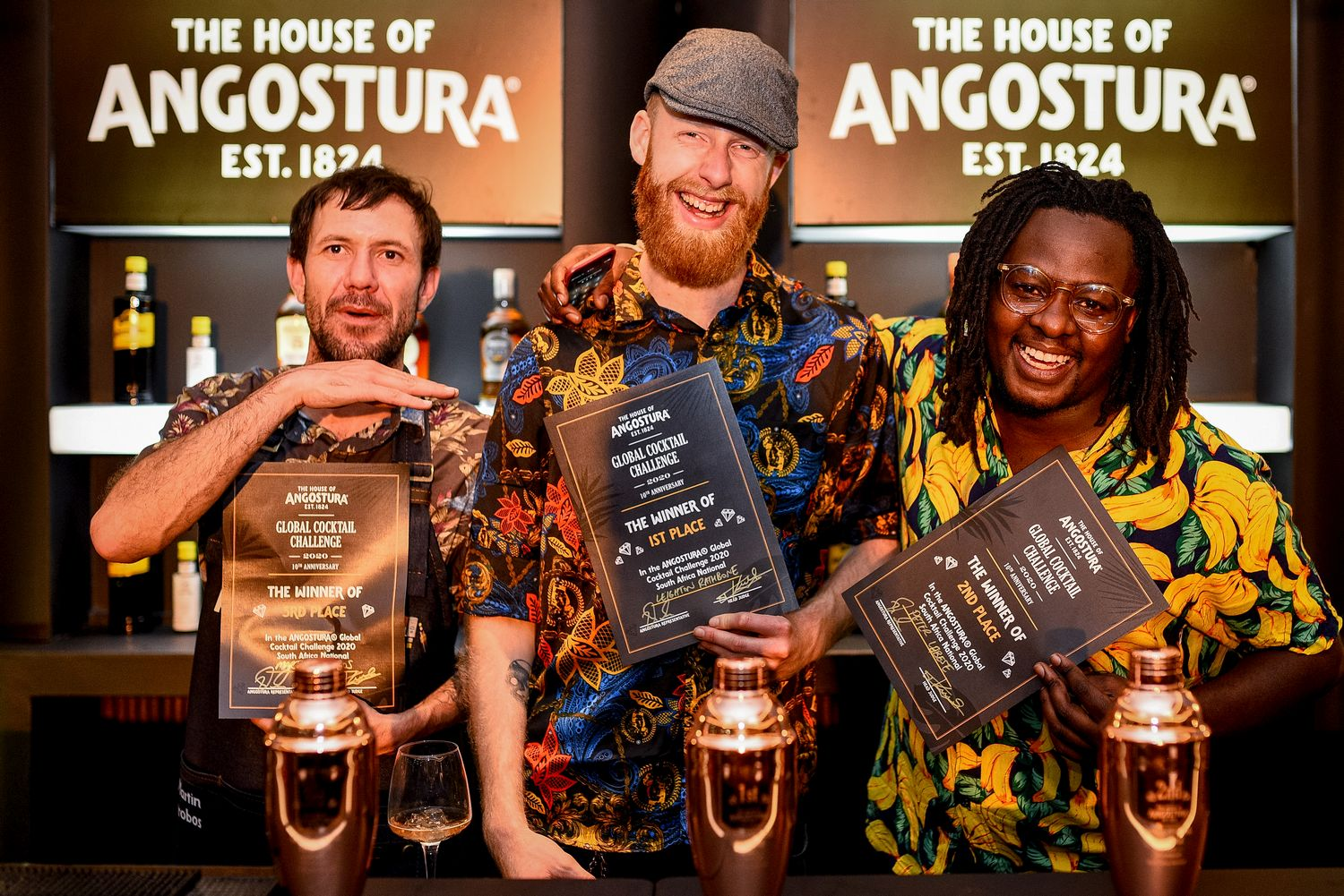 Leighton Rathbone is South Africa's National Angostura® Global Cocktail Challenge Winner photo