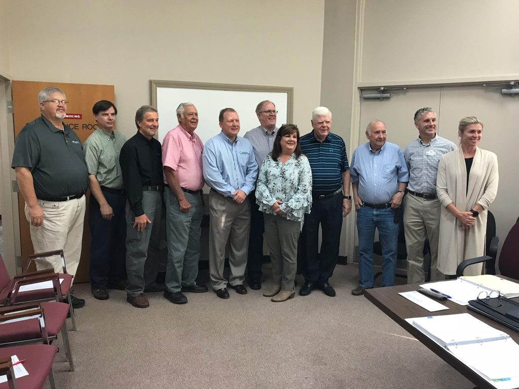 Amicalola Emc Presents Lumpkin County Development Authority A Check For $20,000 photo