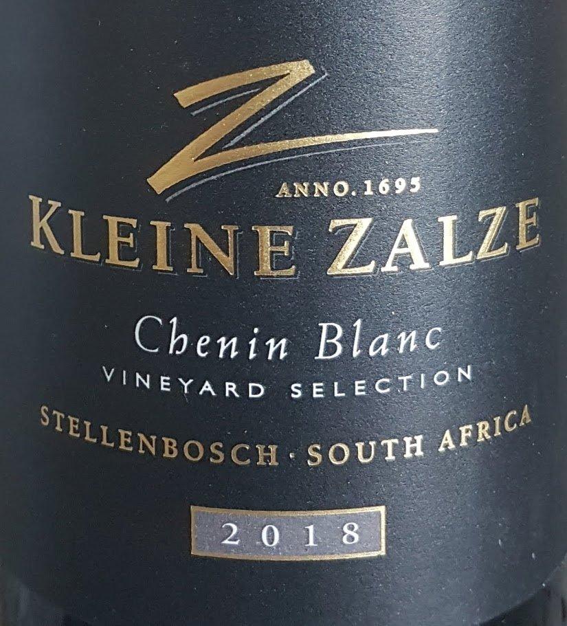 Kleine Zalze Vineyard Selection Chenin Blanc 2018 photo
