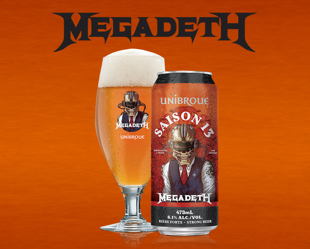 Be The First To Taste The New Megadeth Beer And Win A Signed Guitar & Megacruise Cabin At The Launch Party In Nyc On October 1st! photo