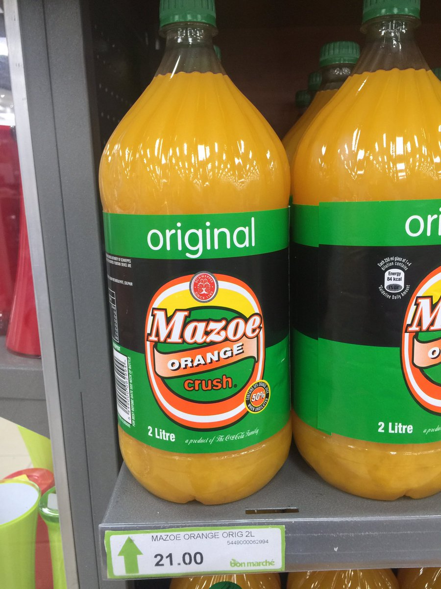 Schweppes Speaks On Mazoe Orange Crush Colour Variation ? Pindula News photo