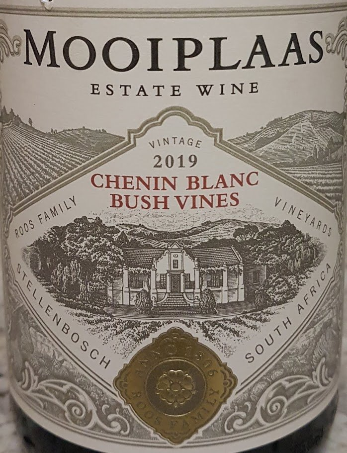 Mooiplaas Bush Vines Chenin Blanc 2019 photo