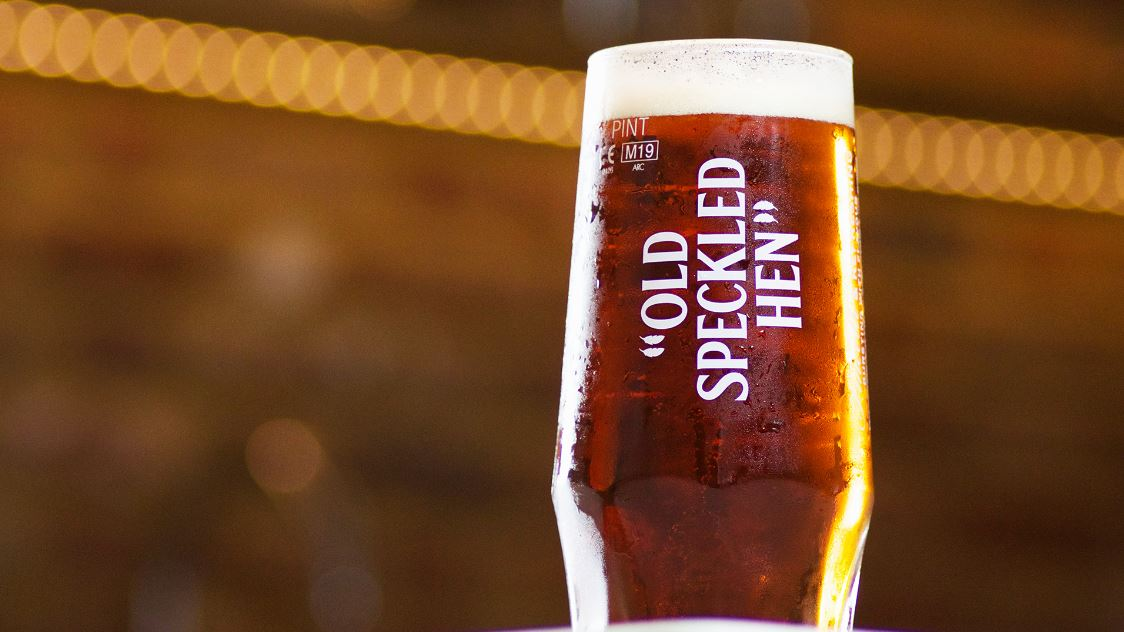 New Look For Old Speckled Hen photo