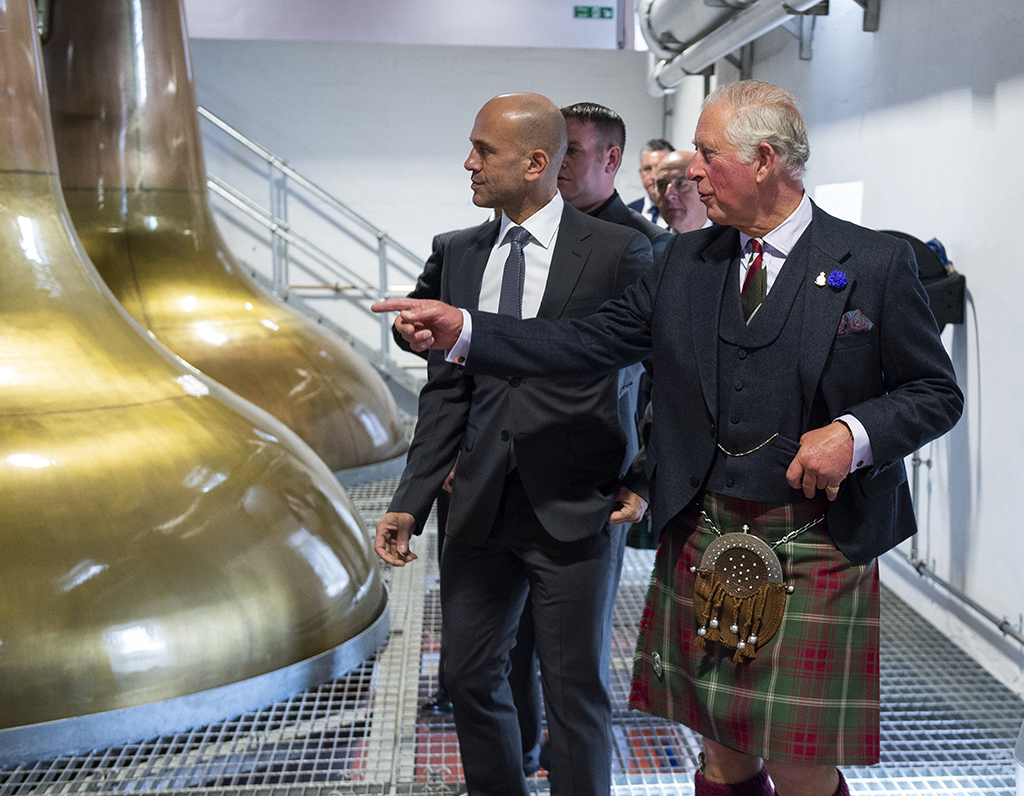 Prince Charles Opens Bladnoch Visitor Centre photo