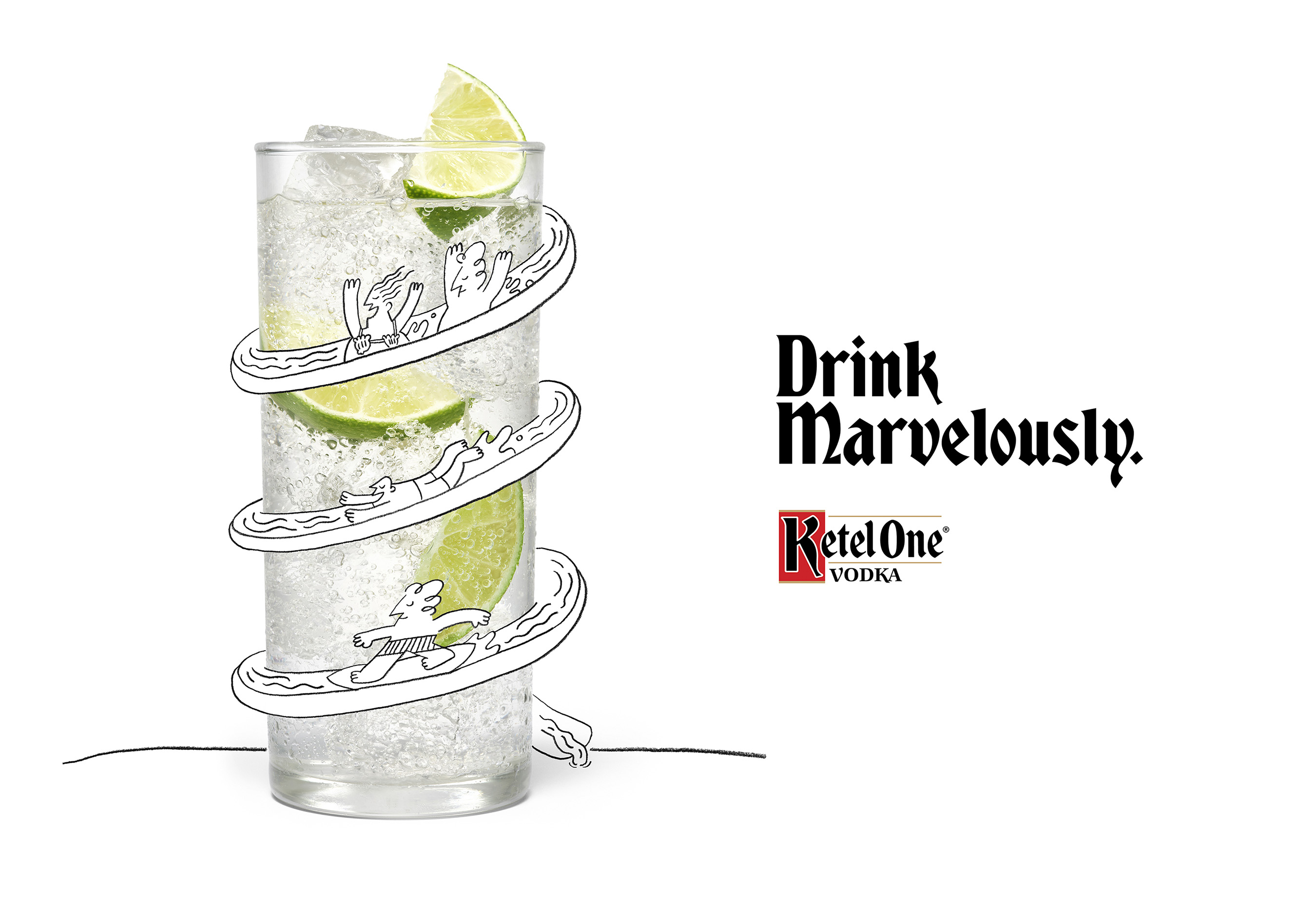 Ketel One Family Made Vodka Welcomes The World To Drink Marvelously photo