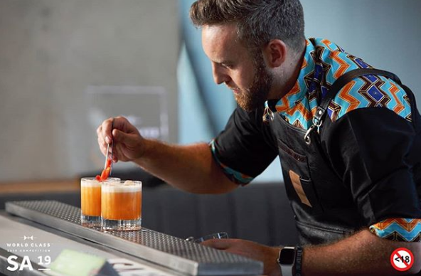 South Africa's Best Bartender Heads To Glasgow Competition With Rooibos Brew! photo
