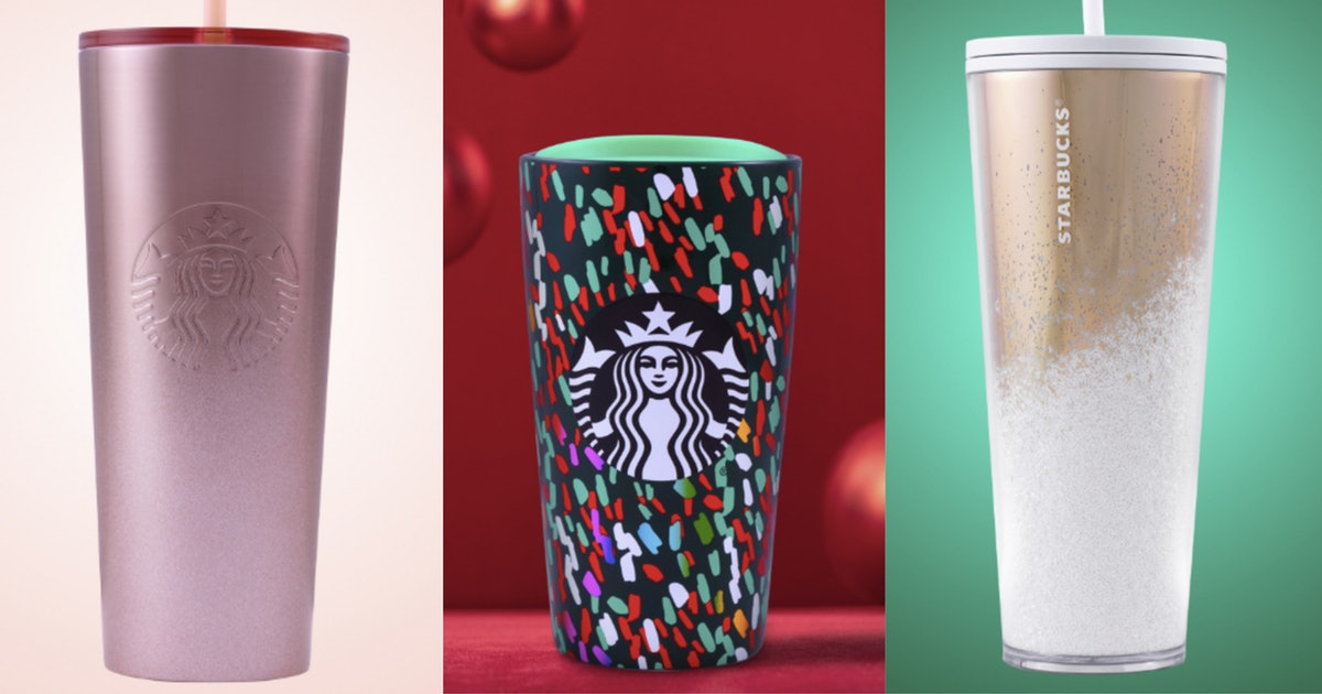 Here Are All The Gorgeous Holiday Cups You Can Buy At Starbucks This Year photo