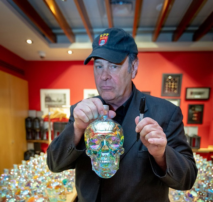 Dan Aykroyd Offers Up Signed Bottles Of Crystal Head Aurora photo