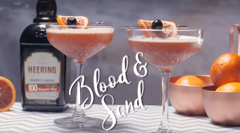 Blood And Sand Cocktail Recipe: A Complete Guide To The 1930 Classic Cocktail photo