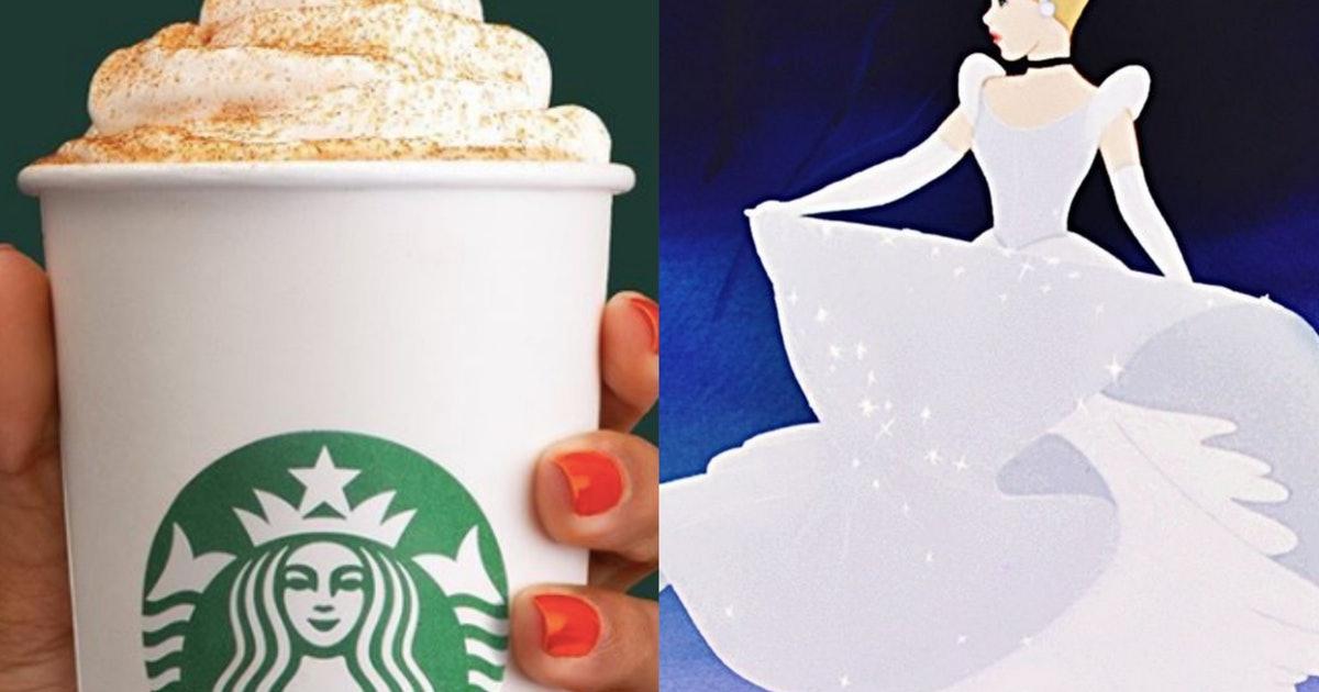 "The ""cinderella Latte"" On The Starbucks Secret Menu Is A Pumpkin Lover's Dream photo"