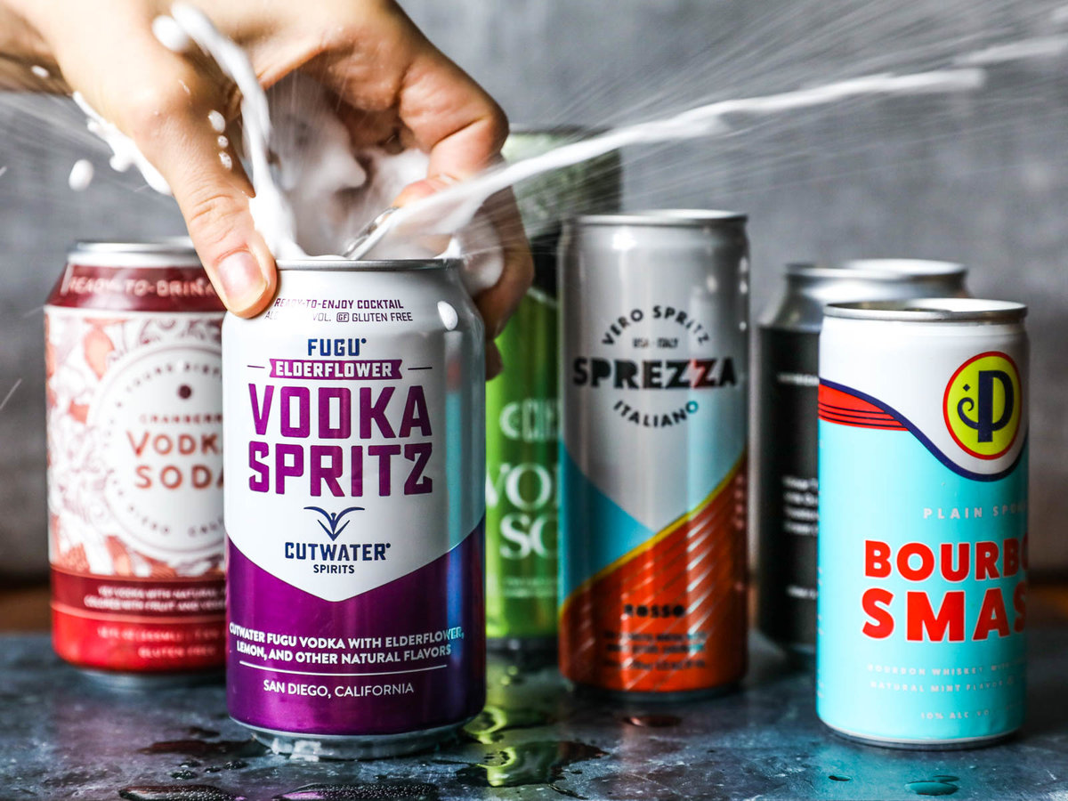 We Tried 7 Different Canned Cocktails—here Are Our Favorites photo
