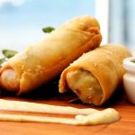 Bacon and Egg Spring Rolls photo