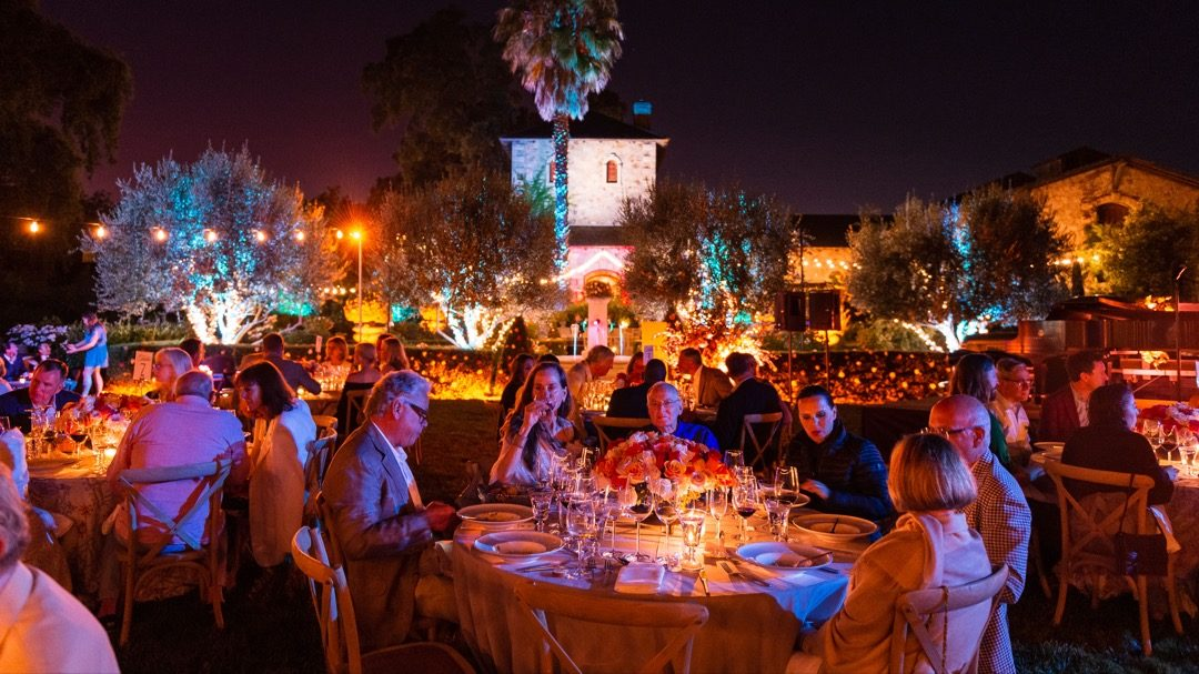 Patron Dinner At V. Sattui Winery: An Italian Evening In Napa Valley photo