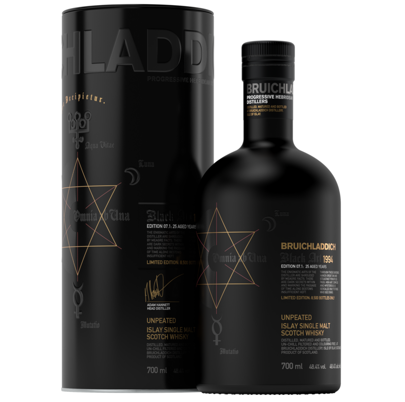 Bruichladdich Black Art 7.1: 25-year-old Witness Of Old Craftmanship photo
