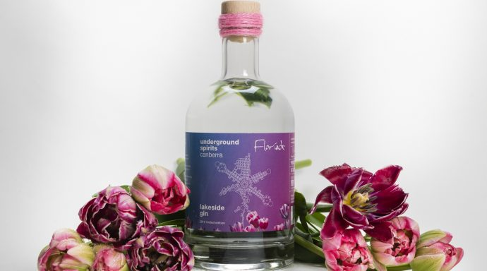 Underground Brings The Spirit Of Canberra To Floriade With Limited Edition Gin photo