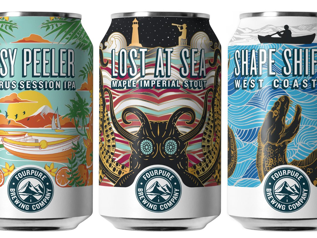 Fourpure Brewing Co. Unveils New Packaging Design photo