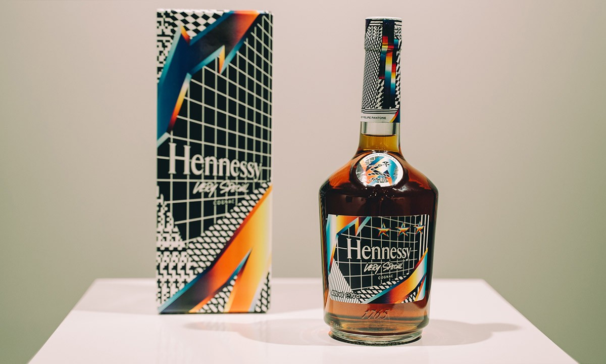 Artist Felipe Pantone Remixed Reality For His Hennessy Collab photo